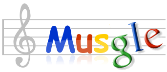 Music + Google = Musgle. Music Search Powered by Google