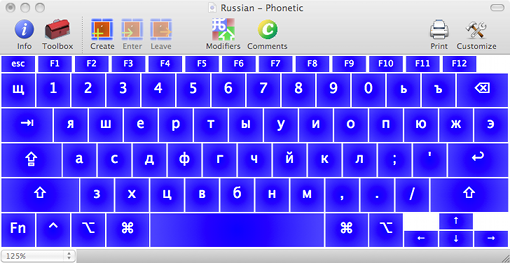 Russian Phonetic Layout Ukelete